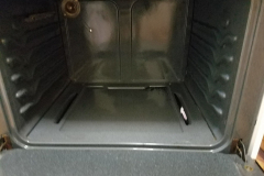 Inside Oven After  full cleaning
